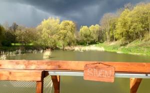 výhled na rybník